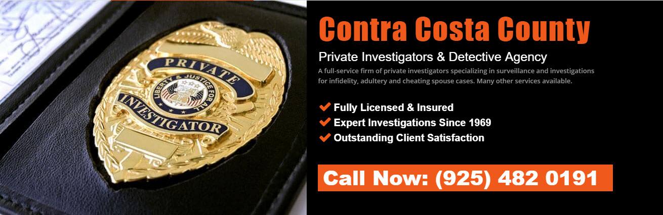 Contra Costa County Private Investigators & Detective Agency